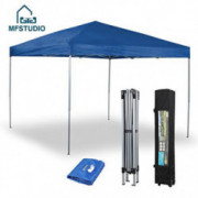 PHIVILLA 10 x 10ft Lightweight Canopy Portable Instant Canopy Patio Tent Party Tent, 100 Sq. Ft of Shade,Blue