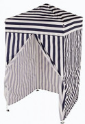 Impact Canopy 4 x 4 Portable Dressing Room, Pop Up Portable Changing Room, Navy Blue / White