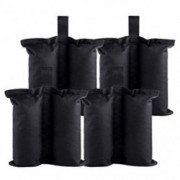 Onnicno Canopy Tent Weights Bag 4PCS-Pack Leg Weights for Pop Up Canopy Tent Weights Sand Bag Outdoor Instant Canopies
