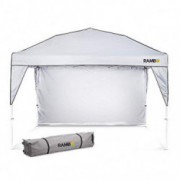 Pop Up Canopy Tent : Heavy Duty 10 x 10 Outdoor Canopy for Camping, Parties and Beach - Waterproof and Flame Resistant, Ide