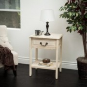 Noah Reclaimed Wood Top Drawer Accent Table