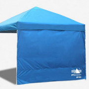 ABCCANOPY Sun Wall for 10x 10 Straight Leg pop up Canopy, 10 Sidewall kit  1 Panel  with Truss Straps,  Sunshield Wall Blu