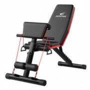 LongayS Roman Chair Adjustable Sit Up Incline Abs Benchs Flat Fly Weight Press Fitness