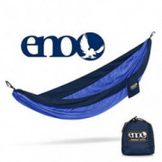 ENO, Eagles Nest Outfitters SingleNest Lightweight Camping Hammock, Navy/Royal