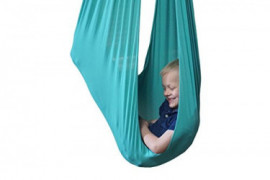 Indoor Therapy Swing for Kids with Special Needs by Sensory4u  Hardware Included  Snuggle Swing | Cuddle Hammock for Children