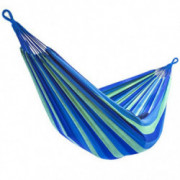 Sorbus Brazilian Double Hammock - Extra-Long 2 Person Portable Hammock Bed for Indoor or Outdoor Spaces - Hanging Rope, Carry