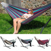 hevare Comfort Durability Striped Hanging Chair Large Hammock Chair Hammocks