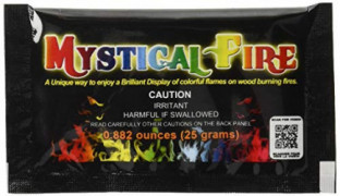 Mystical Fire Campfire Fireplace Colorant Packets  50 Pack