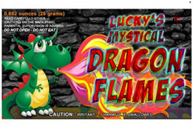 Mystical Fire Dragon Flames Flame Colorant Vibrant Long-Lasting Pulsating Flame Color Changer for Indoor or Outdoor Use 0.882