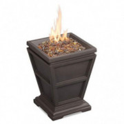 Endless Summer GLT1343B LP Gas Firepit, Brown Outdoor Fire Column