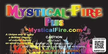 Mystical Fire Plus Campfire Fireplace Colorant Packets  25 Pack, Mystical Fire Plus