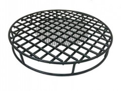 Walden Fire Pit Grate Round 29.5 Diameter Premium Heavy Duty Steel Grate with Ember Catcher for Outdoor Fire Pits