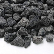 Skyflame Black Natural Stones Lava Rock Granules for Gas Fire Pit | Fireplace | Gas Log Set | BBQ Grill | Garden Landscaping