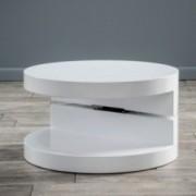 Emerson Small Circular Mod Swivel Coffee Table