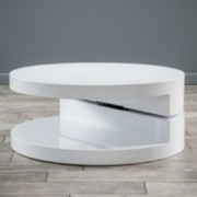Emerson Large Circular Mod Swivel Coffee Table