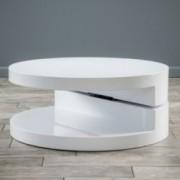 Emerson Large Circular Mod Swivel Coffee Table