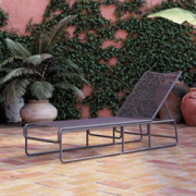 CosmoLiving by Cosmopolitan Nyla Chaise Lounger, Charcoal