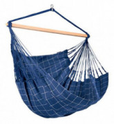 LA SIESTA Domingo Marine - Weather-Resistant Outdoor Kingsize Hanging Chair