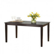 Better Homes & Gardens Bankston Dining Table, Multiple Finishes  Espresso