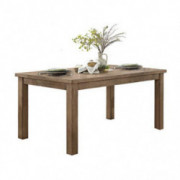 "Homelegance Janina 66"" x 38"" Dining Table, Natural"