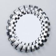 Denise Austin Home Grande Round Curved Mirror