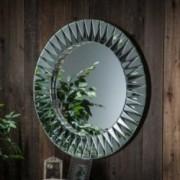 Vermont Round Deco Mirror