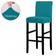 LANSHENG Bar Chair Stool Covers, Stretch Removable Washable Chair Slipcover for Short Swivel Dinning Chair Back Chair Bar Sto