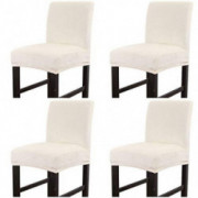 Surrui 2/4PCS Chair Cover Counter Height Bar Stool Slipcovers High Seat Protectors  8