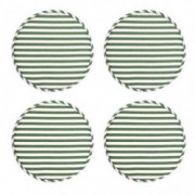 H HOMEWINS Round Bar Stool Cushions,Chair Pads Non Slip Kitchen Dining Seat Cushions High Stool Chair Cushion Set with Ties 1