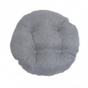 Enerhu Bar Stool Cushion Round Chair Pads Stool Pad Soft Breathable Seat Cover for Home Office Grey+S:11.8x11.8inches 2 Piece