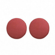 JINGXIN Pack of 2 Round Stool Pad Kids Soft Sponge Seat Cushion Bar High Stool Chair Pad - Diameter 13 inch,Red Dot