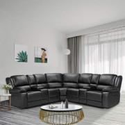 Anshunyin Symmertrical Reclining Sectional Sofa Sectional Sofa Power Motion Sofa Living Room Sofa Corner Sectional Sofa with