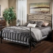 Weyvorn Queen Bed Set with Smooth Top Mattress