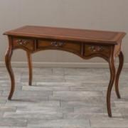 Ziggy Brown Wood 3 Drawer Desk