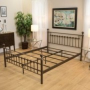 Bradford Queen Size Brown Bed Frame