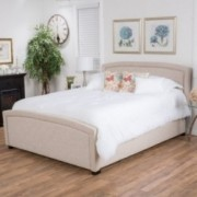 Jarvia Fully Upholstered Cal King Bed