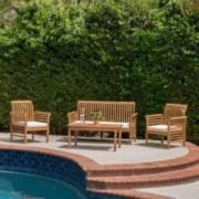 Mondes 4-piece Outdoor Seating Set