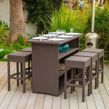 Outdoor Patio Bar Sets
